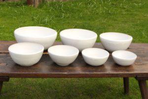 Schüsseln aus Keramik