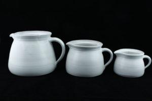Milchkrug aus Keramik